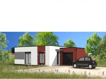 Modèle de maison Avant-Projet FLOCELLIERE - 83 m2 - 2 chambres 2 chambres  : Photo 1
