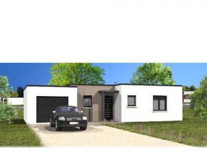 Modèle de maison Avant-Projet MARILLET - 89 m² - 2 chambres 2 chambres  : Photo 1
