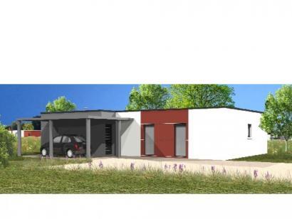 Modèle de maison Avant-projet L'AIGUILLON SUR MER - 97 m² - 3 chamb 3 chambres  : Photo 1