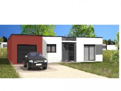 Modèle de maison Avant-projet STE HERMINE - 91 m² - 3 chambres 3 chambres  : Photo 1