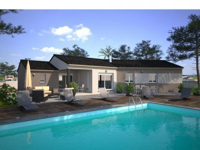 Modèle de maison Emeraude 115 Elegance 4 chambres  : Photo 1
