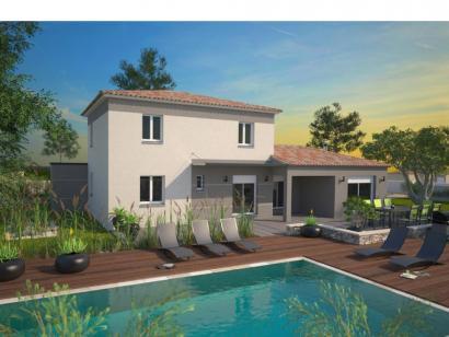 Modèle de maison Aigue-Marine 145 Elégance  : Photo 1