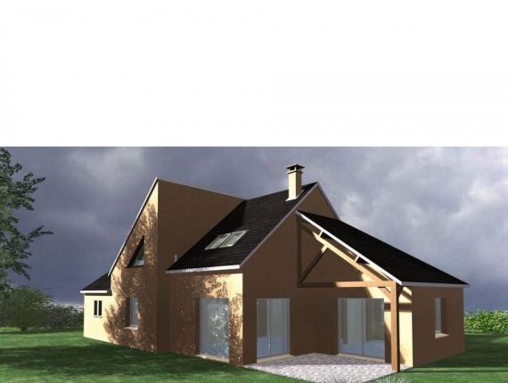 Modèle de maison Maison Contemporaine - Archi7 : Photo 1
