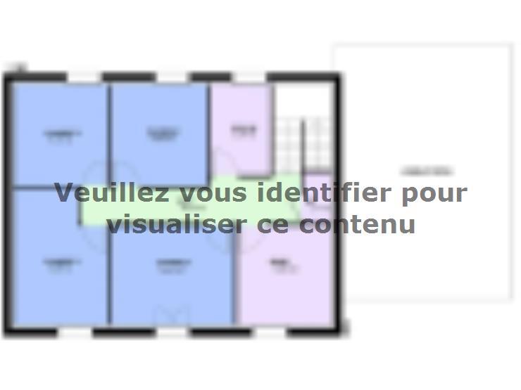 Mod le de maison emeraude contemporain maisons horizon for Modele maison horizon