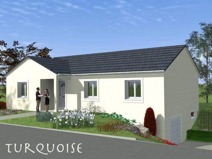 Mod le de maison turquoise sous sol traditionnel maisons for Ajouter fenetre sous sol