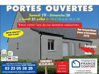 Opération portes ouvertes sur la commune d'Etaves et Bocquiaux (02)