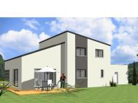 Vue Avant-Projet HERBIERS - 140 m2 - 4 chambres