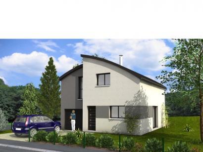 Modèle de maison Avant-Projet GUERINIERE - 90 m2 - 3 chambres 3 chambres  : Photo 1