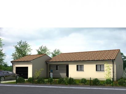 Modèle de maison Avant-Projet MALLIEVRE - 100 m² - 3 chambres 3 chambres  : Photo 1
