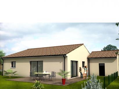 Modèle de maison Avant-Projet MALLIEVRE - 100 m² - 3 chambres 3 chambres  : Photo 2