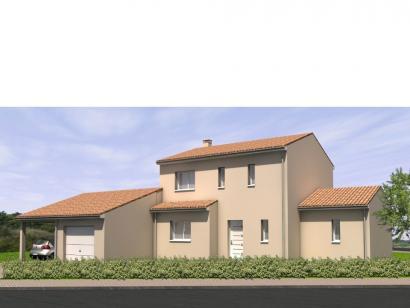 Modèle de maison Avant-Projet LANDERONDE - 110 m² - 3 chambres 3 chambres  : Photo 1