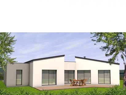 Modèle de maison Avant-Projet CHALLANS - 130 m2 - 4 chambres 4 chambres  : Photo 2