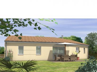 Modèle de maison Avant-Projet JARD SUR MER - 90 m2 - 3 chambres 3 chambres  : Photo 2