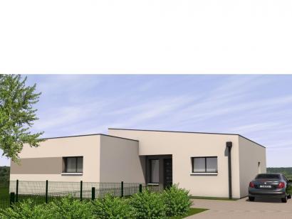 Modèle de maison Avant-Projet LES EPESSES - 120 m² - 4 chambres 4 chambres  : Photo 2