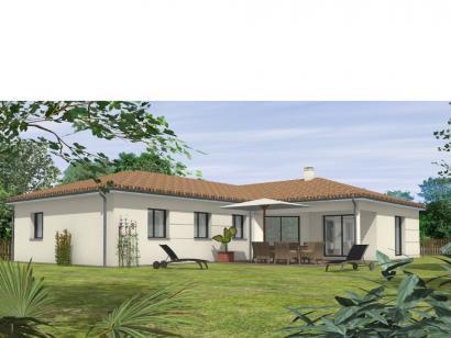 Modèle de maison Avant-Projet FOUGERE - 140 m² - 4 chambres 4 chambres  : Photo 1