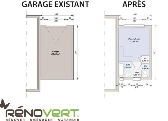 Am nager votre garage en studio ind pendant sur r novert r novert r nove - Amenager son garage en studio ...