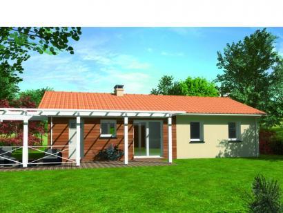 Modèle de maison Avant projet Moutiers Les Mauxfaits 3 chambres  : Photo 2