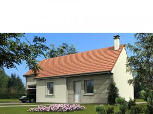 Maison avec garage et combles aménageables