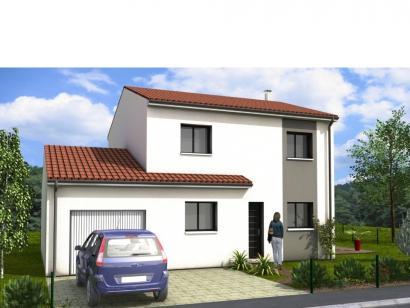 Modèle de maison Avant-Projet FERRIERE - 105 m2 - 3 chambres 3 chambres  : Photo 1