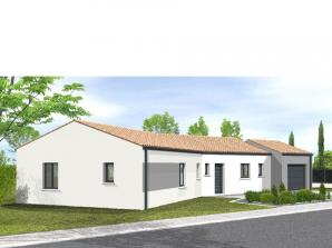 Avant projet Chantonnay  110 m² -4 chambres