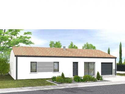 Modèle de maison Avant projet NIORT  89 m² - 4 chambres 4 chambres  : Photo 1