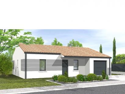 Modèle de maison Avant-Projet AIZENAY  81 m² - 3 chambres 3 chambres  : Photo 1