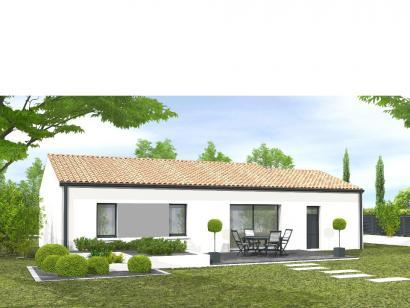Modèle de maison Avant-projet APREMONT - 103 m² - 4 chambres 4 chambres  : Photo 2