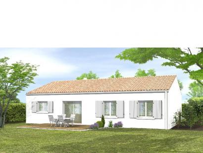 Modèle de maison Avant-projet MACHE - 84 m² - 3 chambres 3 chambres  : Photo 2