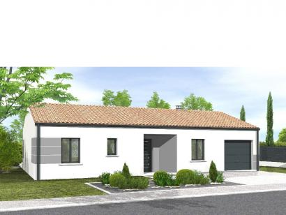 Modèle de maison Avant-projet MARANS - 80 m² - 3 chambres  : Photo 1