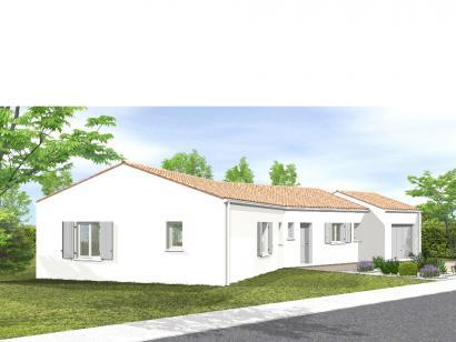Modèle de maison Avant-Projet NALLIERS - 85 m² - 3 chambres 3 chambres  : Photo 1