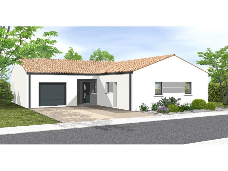 Mod le de maison avant projet rosnay 3 chambres 1 bureau for Plan maison 3 chambres 1 bureau