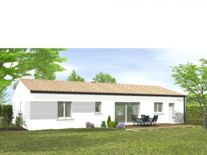 Modèle de maison Avant-Projet La Génetouze 3 chambres 3 chambres  : Photo 2