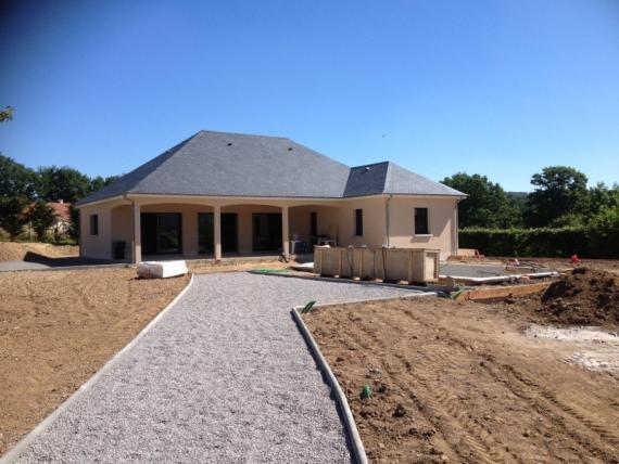 Maison en L en Creuse