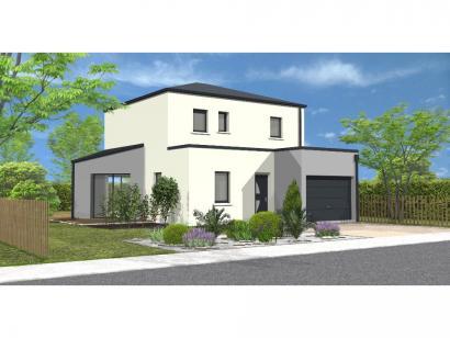 Modèle de maison Avant projet St Hilaire de Loulay - 4 chambres - 1 4 chambres  : Photo 1