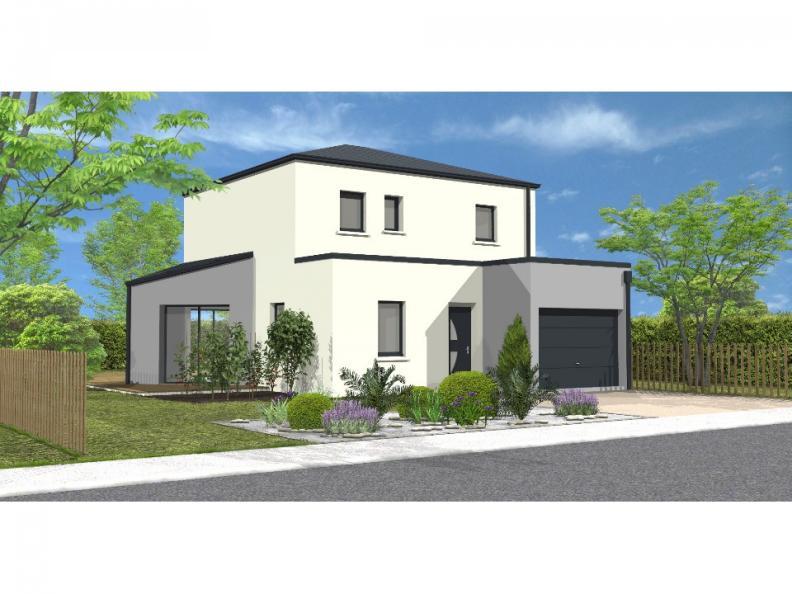 Modèle de maison Avant projet St Hilaire de Loulay - 4 chambres - 1 : Vignette 1