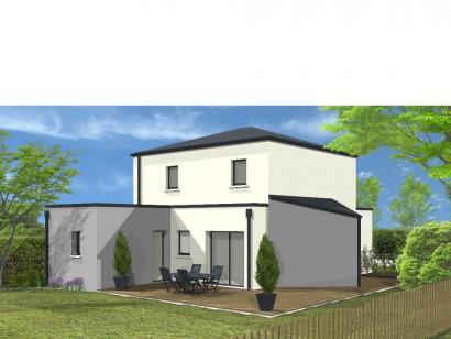 Modèle de maison Avant projet St Hilaire de Loulay - 4 chambres - 1 4 chambres  : Photo 2