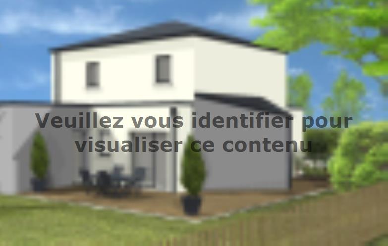 Modèle de maison Avant projet St Hilaire de Loulay - 4 chambres - 1 : Vignette 2