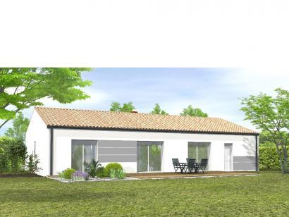 Modèle de maison Avant projet Sainte Flaive Des Loups - 3 chambres 3 chambres  : Photo 2