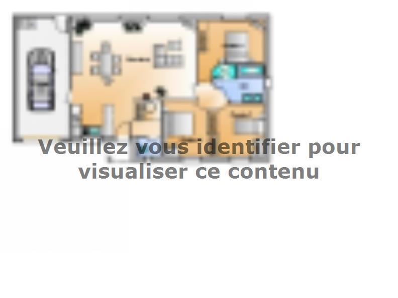 Plan de maison Avant projet Sainte Flaive Des Loups - 3 chambres : Vignette 1
