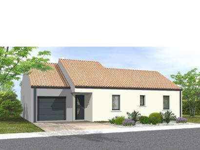 Modèle de maison Avant projet Coex - 3 chambre + 1 bureau - 96m² 3 chambres  : Photo 1