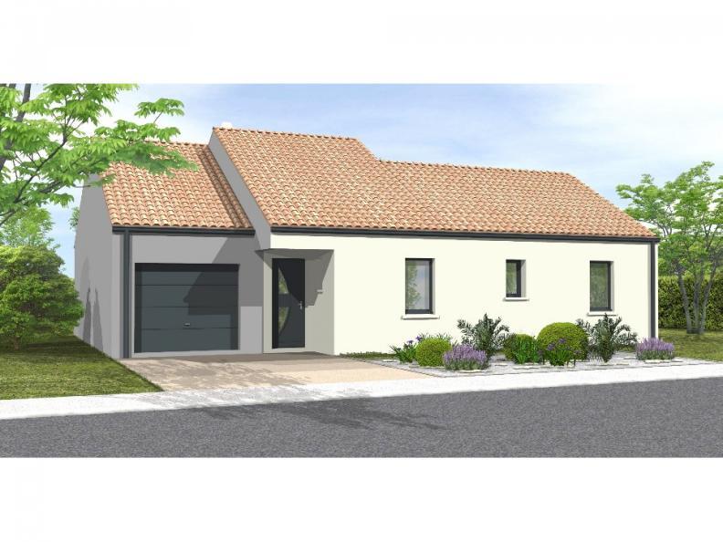 Modèle de maison Avant projet Coex - 3 chambre + 1 bureau - 96m² : Vignette 1