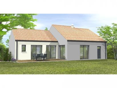 Modèle de maison Avant projet Coex - 3 chambre + 1 bureau - 96m² 3 chambres  : Photo 2