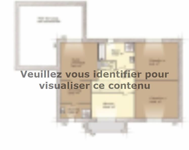 Plan de maison Contemporaine 160 : Vignette 2