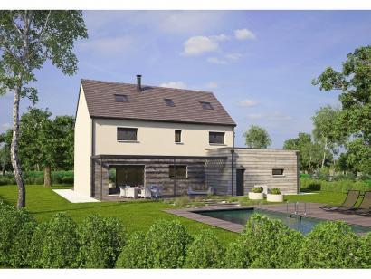 Modèle de maison Contemporaine 186 4 chambres  : Photo 2