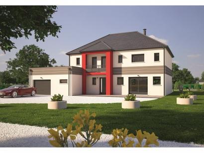Modèle de maison Contemporaine 200 - 5 chambres - Maisons ...