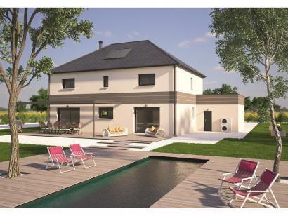 Modele De Maison Contemporaine 200 5 Chambres Maisons Balency