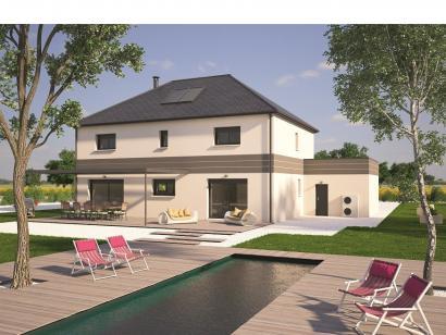 Modèle de maison Contemporaine 200 5 chambres  : Photo 2