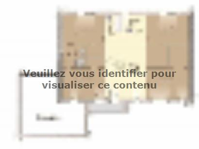 Plan de maison Contemporaine 200 5 chambres  : Photo 2