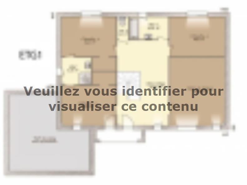 Plan de maison Contemporaine 242 : Vignette 2