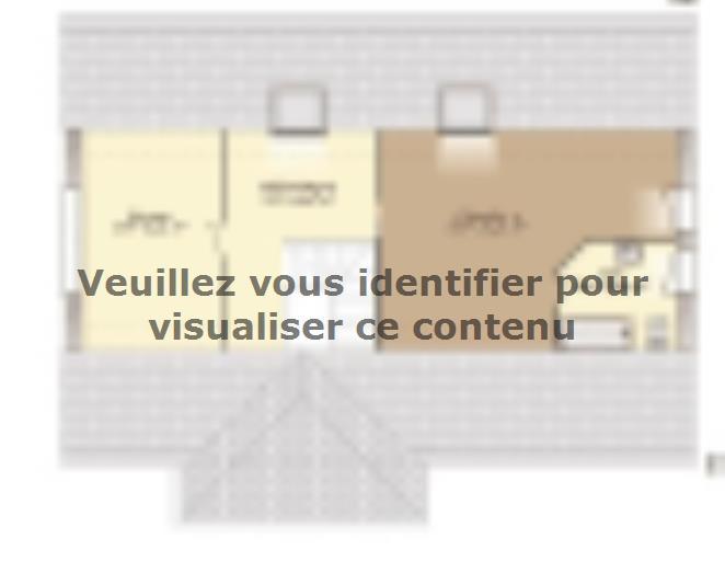 Plan de maison Contemporaine 242 : Vignette 3
